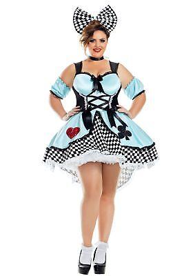 Flirtatious Alice Plus Size Women's Costume - Plus Size Woman Costumes