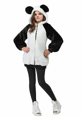 Girls Panda Hooded Jacket - Panda Girl Costume