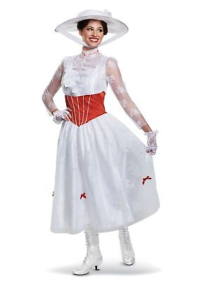 Deluxe Women's Mary Poppins Costume](Mary Poppins Costumes Adults)