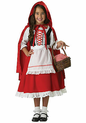 Carnival Halloween Costume Kids Little Red Riding Hood 1-10 Years Old Girl Girls (1 Year Old Girl Halloween Costume)