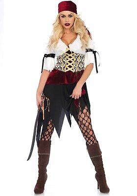 IAL Leg Avenue 86673 Damen Kostüm Pirat Piratin High Seas Wench Seeräuber Meer