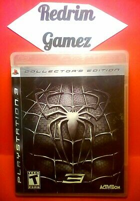Spider-Man 3 Collectors Edition w/Holocard PS3 Video Games