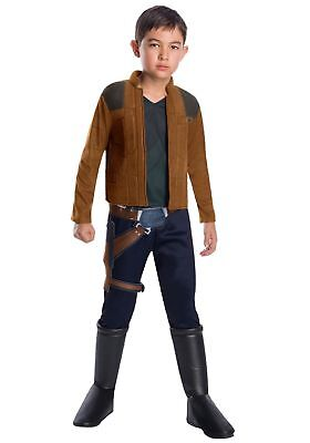 NEW Han Solo Star Wars Costume Size Small (3-4 yrs) Med (5-7 yrs) Lg (8-10 - Han Solo Girl Costume