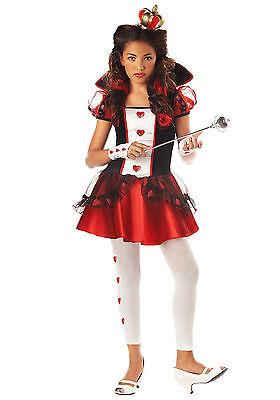 Queen Of Hearts - Tween Costume ()