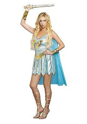 DRAGON WARRIOR QUEEN ADULT HALLOWEEN COSTUME WOMEN'S SIZE - Women's Dragon Queen Kostüm