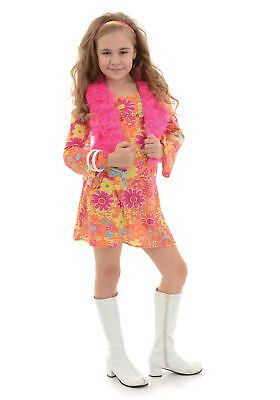 Girl's Flower Power 70's - Flower Power Girl Costume
