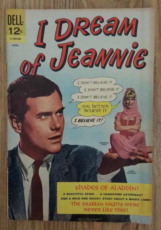 I Dream Of Jeannie #1 (Dell, April  1966) RARE ISSUE VG- Condition