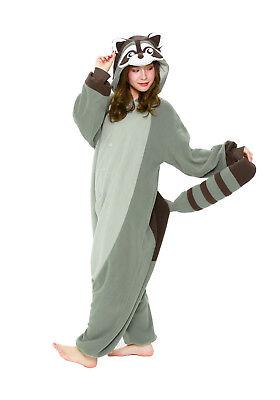 Adult Raccoon Costume (SAZAC Raccoon Kigurumi - Adult Costume from)