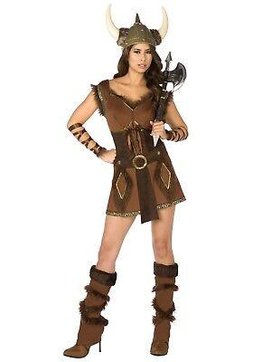 WOMEN'S VIKING COSTUME SIZE SMALL 6-8 (missing boot tops)](Female Viking Costume)