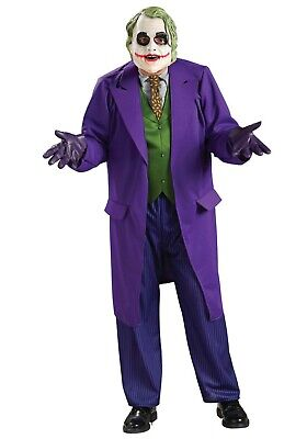 ADULT DC COMICS BATMAN VILLAIN THE JOKER COSTUME SIZE S (USED) - The Joker Adult Costume