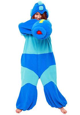 SAZAC Mega Man Kigurumi - Adult Costume from USA (Adult Mega Man Kostüm)