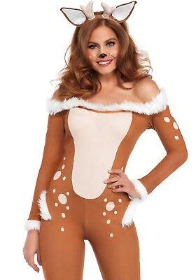 LAG 86725 Hirsch Reh Darling Deer Tierkostüm Leg Avenue Fasching Damen Kostüm