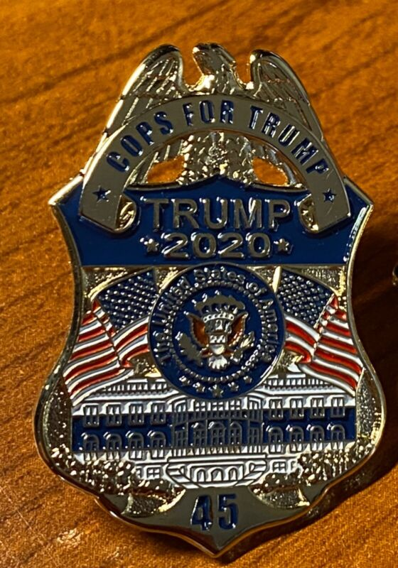 Cops for Trump Police Lapel Pin