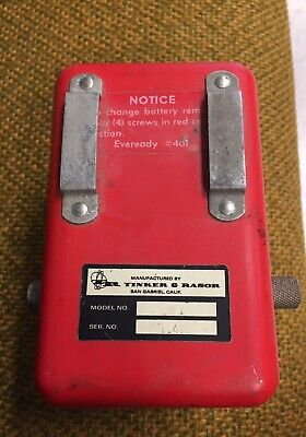 Tinker Rasor Unknown Pipeline Electronic Detector Sensor Portable Test Equipment