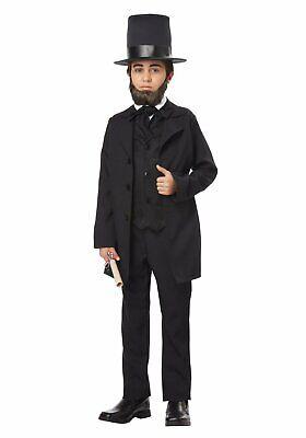 California Costumes 00432 Child Abraham Lincoln/Frederick - Child Lincoln Kostüm