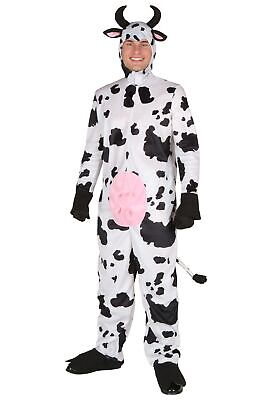 Adult Happy Cow Costume - Cow Costume Adults