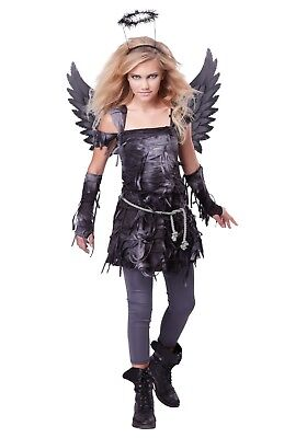 TEEN SPOOKY ANGEL COSTUME SIZE XL 12-14 (MISSING LEGGINGS)