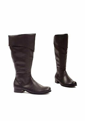 Ellie Shoes 121-BERNARD Men's 1 Inch Heel Black Pu Boot - Bernard Boots