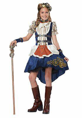 Costumes For Girl Tweens (California Costumes 04090 Tween Steampunk Fashion)