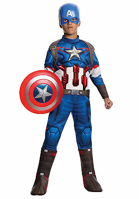 Avengers - Age of Ultron - Captain America Child Muscle Costume