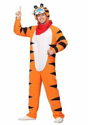 Tiger Costume For Men (Frosted Flakes Tony the Tiger Men's)