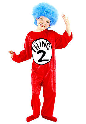 Thing 1 Costumes (Dr. Seuss Thing 1 & Thing 2 Kid's Costume -)
