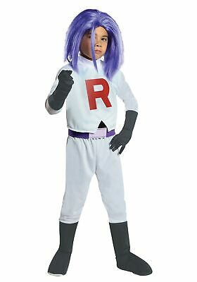 Child James Team Rocket - Team Rocket Kostüm