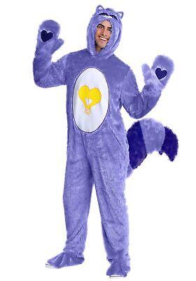 Adult Raccoon Costume (Care Bears & Cousins Adult Bright Heart Raccoon)