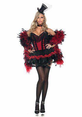 Easy Girl Costume (BeWicked 1060 Speak Easy Saloon Girl)