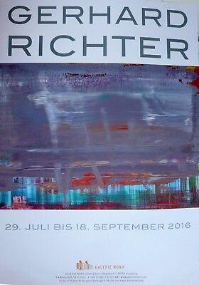 Gerhard Richter Plakat Galerie Noah
