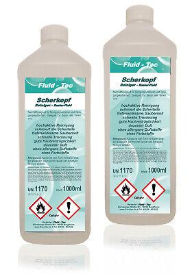 Scherkopfreiniger Braun Reinigungsstation CCR Reinigungskartuschen Fluid-Tec*2 L