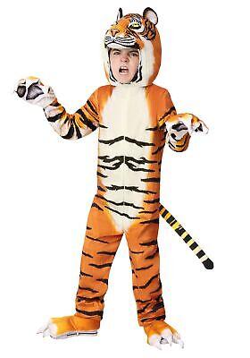 Realistic Tiger Child's Costume](Realistic Tiger Costume)