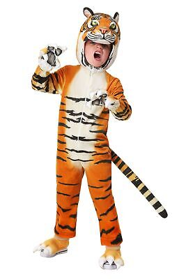 Toddler's Realistic Tiger Costume](Realistic Tiger Costume)