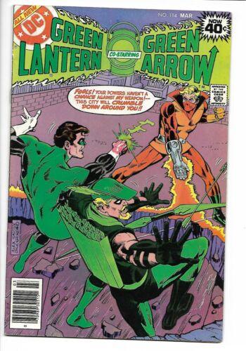 Green Lantern #114 DC 1978 VG+ 4.5  1st appearance of Crumbler. Alex Saviuk cvr