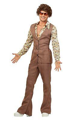 Men's 70's Vest Costume (70s Costumes For Men)