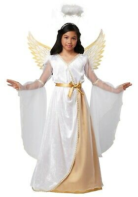 Guardian Angel Costume (USED GIRLS GUARDIAN ANGEL COSTUME SIZE XS SMALL)