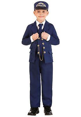 North Pole Train Conductor Costume Child