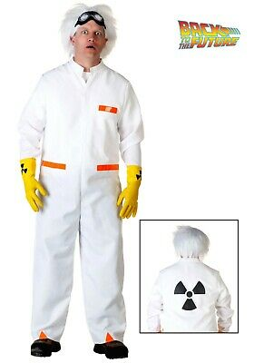Doc Brown Costume (Universal Studios BACK TO THE FUTURE DOC BROWN COSTUME Size)