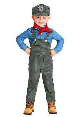 Train Toddler Costume (Toddler Train Engineer)