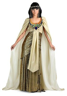 ADULT PLUS SIZE GOLDEN CLEOPATRA COSTUME SIZE Medium (with
