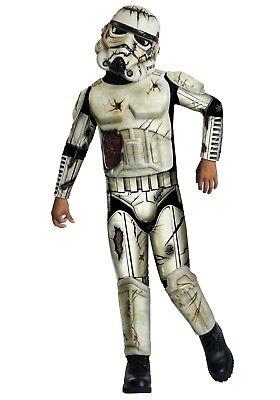 STAR WARS DEATH TROOPER Child Halloween Costume (Sz Small 4-6) Boys Stormtrooper - Halloween 6 Deaths