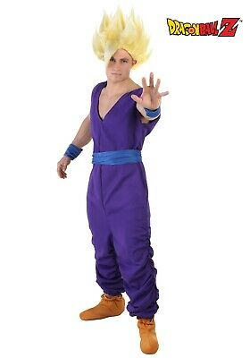 ADULT GOHAN DRAGON BALL Z COSTUME USED SIZE MEDIUM (with defect)](Gohan Costumes)
