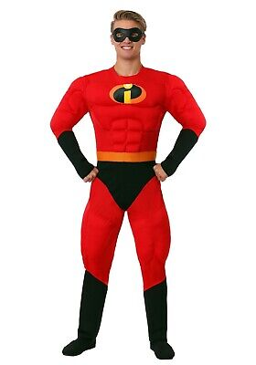 Mr Incredibles Costume (ADULT MR. INCREDIBLE COSTUME SIZE MEDIUM (missing)