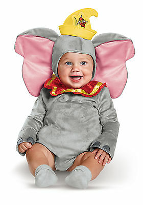 Disney Baby - Dumbo Infant - Baby Dumbo Kostüm
