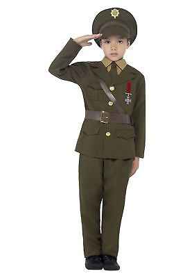 Child's Army Officer Costume - Male Army Costume