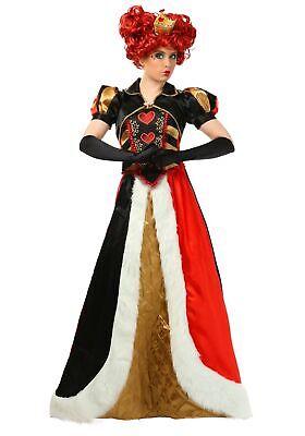 Plus Size Elite Queen of Hearts - Queen Of Hearts Costume For Women