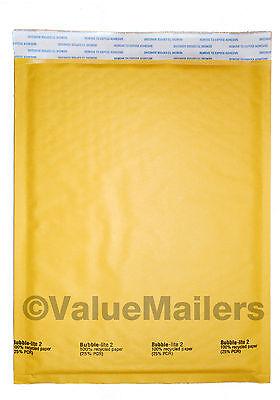 200 2 Kraft - Bubble Lite - Mailer Envelopes Shipping Bags 8.5x12 100 Best