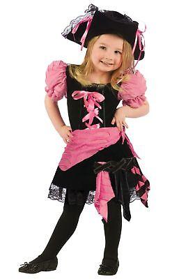 Toddler Pink Punk Pirate Costume