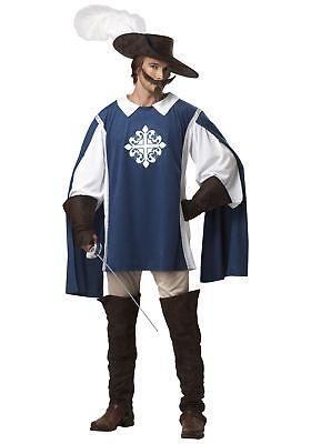 Brave Musketeer Costume (Musketeer Costume Men)