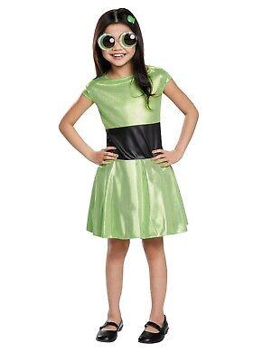 New The PowerPuff Girls ButterCup Child Costume Medium 7-8